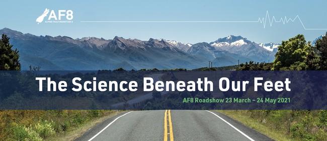 Blenheim – AF8 Roadshow: Public Science Talk