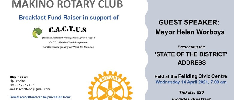 Makino Rotary Club Breakfast Fundraiser