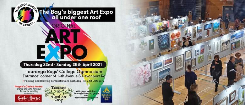 Tauranga Society of Artists Original Art Expo