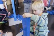 Imagination Station Holiday Brick School