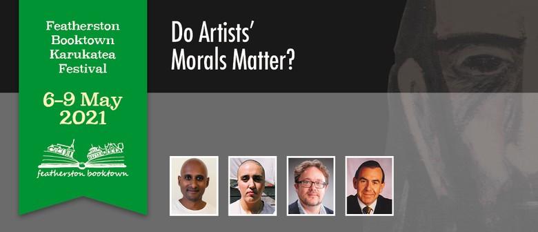 Do Artists' Morals Matter?