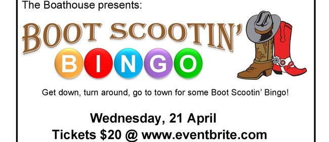 Boot Scootin' Bingo