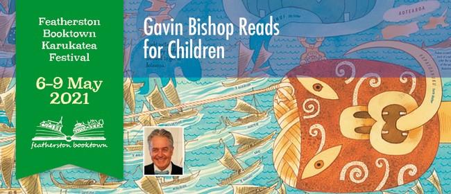 Gavin Bishop Reads For Children