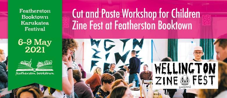 Cut & Paste Workshop For Children Zine Fest @ Booktown