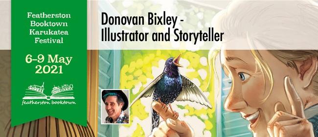 Donovan Bixley – Illustrator And Storyteller