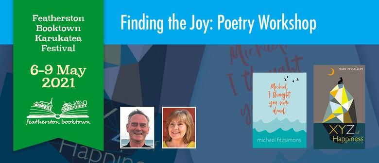 Finding The Joy Poetry Workshop