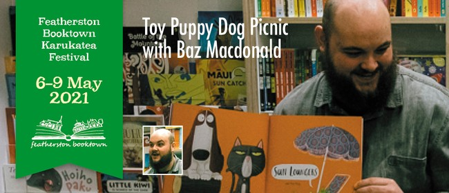 Toy Puppy Dog Picnic With Baz Macdonald