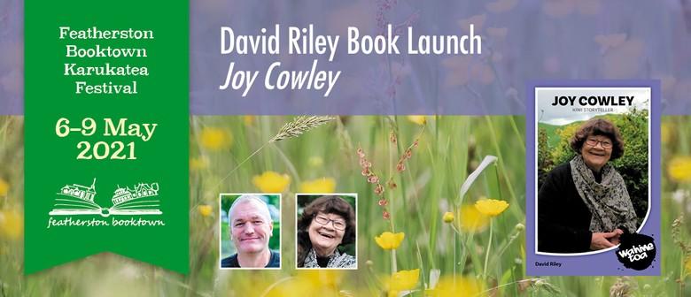David Riley Book Launch of  'Joy Cowley'