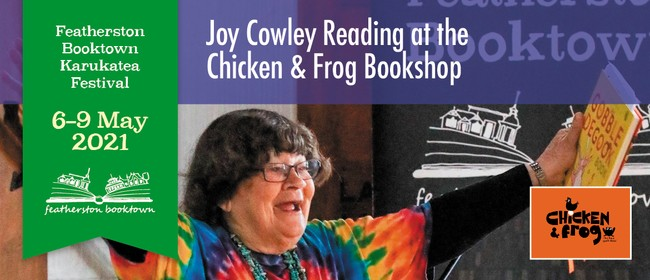 Joy Cowley Reading At The Chicken & Frog Bookshop