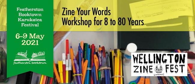 Zine Your Words: Workshop