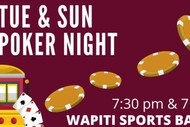 Wapiti Tuesday Poker Night
