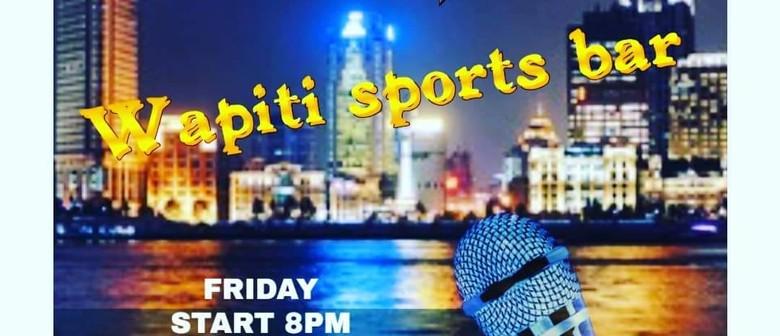 Wapiti Friday Karaoke & DJ night