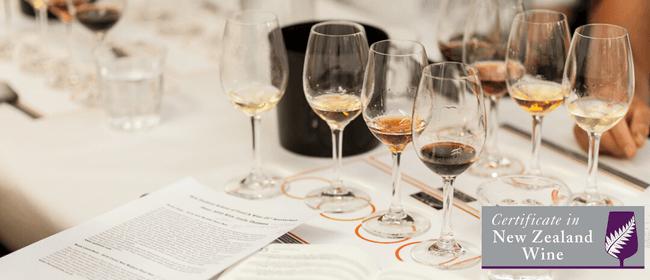 Delivered Online: Certificate in New Zealand Wine