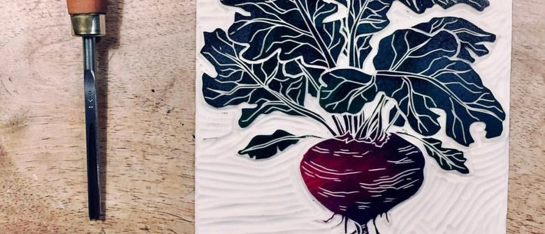 School holiday Printmaking with Moire Mathieson