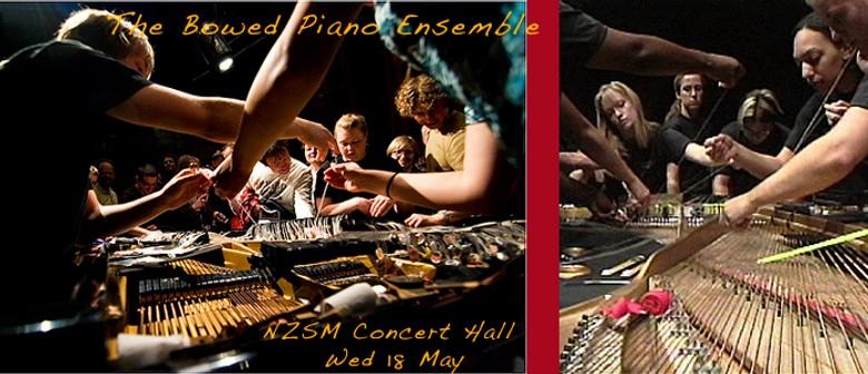 NZSM Present the Bowed Piano Ensemble