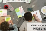 After-School Art Classes - 7 to 12 Years