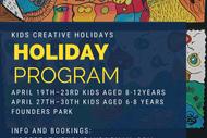 Creative Kids Art Holiday Program