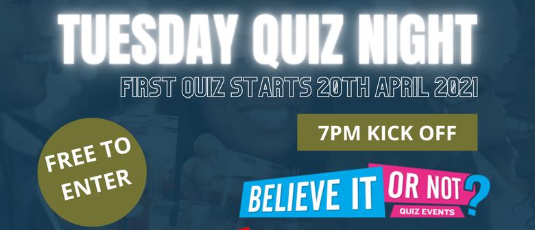 Tuesday Quiz Night