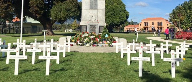 WW1 Rotorua District Field of Remembrance