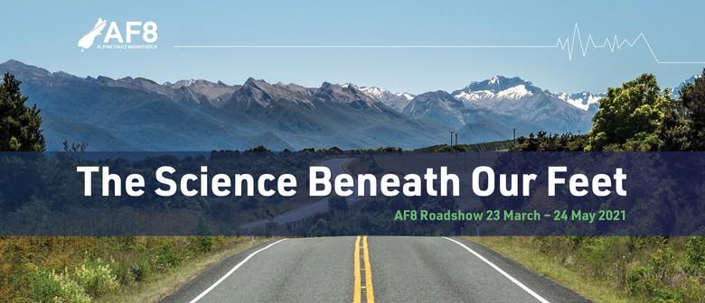 Dunedin – AF8 Roadshow: Public Science Talk