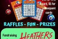 Bingo In Support of Heather's the Musical