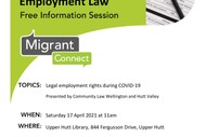 Employment Rights During Covid-19 Information Session