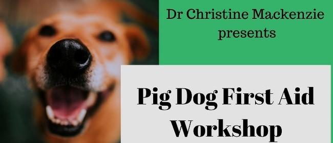 Pig Dog First Aid Workshop - Improving Outcomes