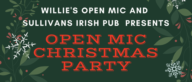 Willie's Open Mic Big Christmas Party