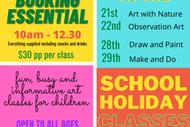 April School Holiday Art Classes