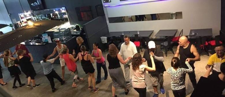 Salsa and Latin dance class
