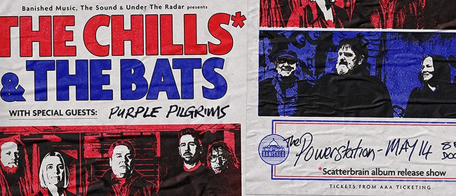 The Chills and The Bats - Scatterbrain Album Release Tour
