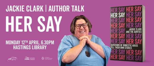 Jackie Clark Author Talk - Her Say