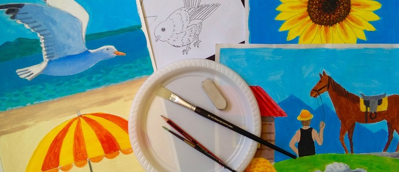 Art Day For Children In The Holidays (7-12yrs)