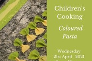 Children's Cooking Class - Coloured Pasta