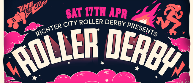 Roller derby extravaganza — Wellington vs Palmerston North
