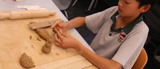 Holiday Programme: Crazy Clay Make & Glaze