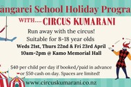 Circus Holiday Program - Whangarei