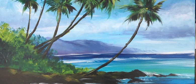 Paint & Chill Friday Night - Tropical Seascape!