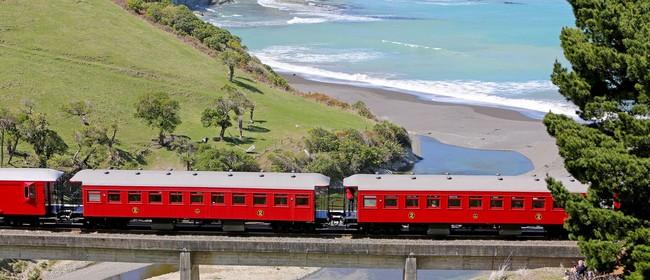 Marlborough Flyer Steam Train - Trip to Kekerengu (return)