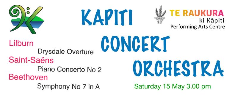 KCO plays Beethoven, Lilburn and Saint-Saëns