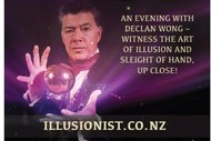 Witness the Art of Illusion and Sleight of Hand- Declan Wong