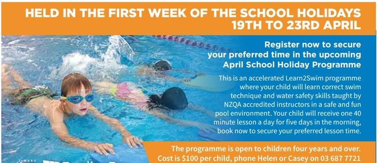 Learn2Swim School Holiday Programme