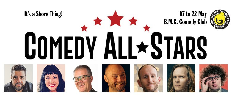 Comedy All-Stars at the BMC Comedy Club