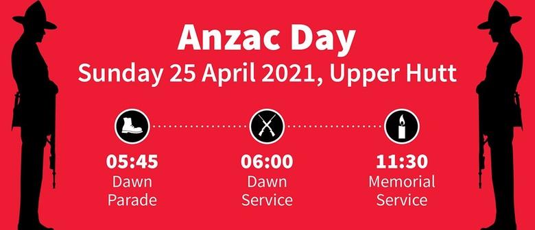 ANZAC Day Dawn Parade 2021