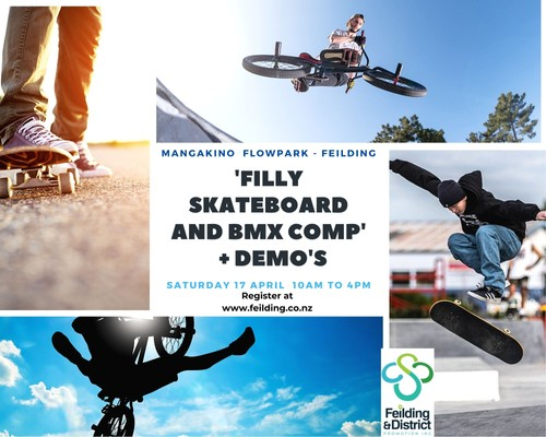 'Filly Skateboard and BMX Comp' + Demo's