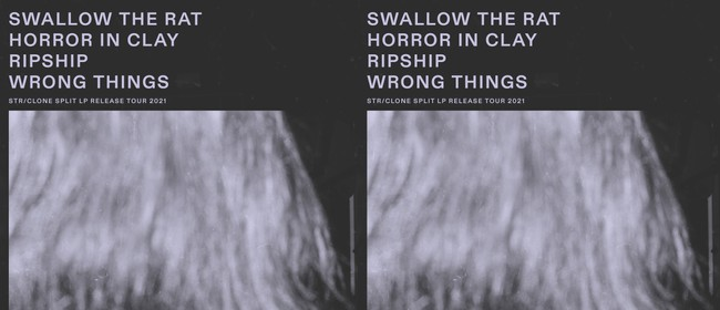 Swallow the Rat LP release w/ Horror in Clay & Ripship