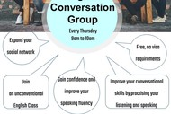 Image for event: English Conversation Group