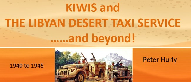 Kiwis and the Libyan Desert taxi service... and beyond