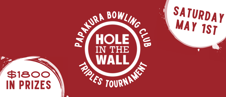 Hole in the Wall Triples Tournament