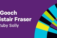 Riki Gooch & Alistair Fraser with Ruby Solly